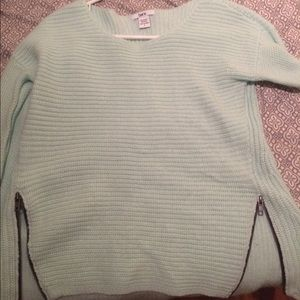 Mint green/blue sweater